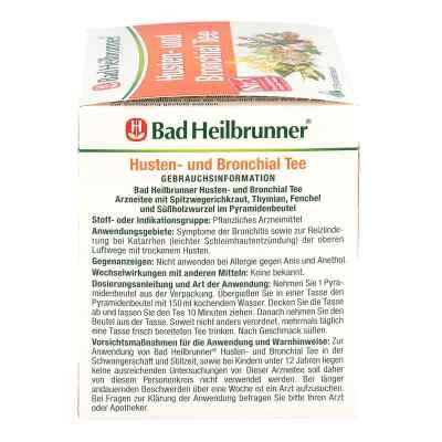 Bad Heilbrunner Tee Husten und Bronchial Filterbtl  bei juvalis.de bestellen