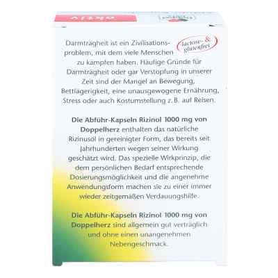 Doppelherz Abführ-Kapseln Rizinol 1000mg  bei juvalis.de bestellen