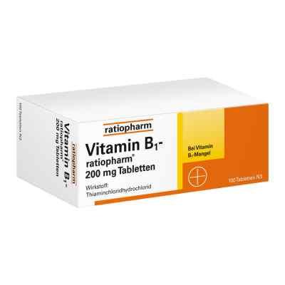 Vitamin B1 ratiopharm 200 mg Tabletten  bei juvalis.de bestellen