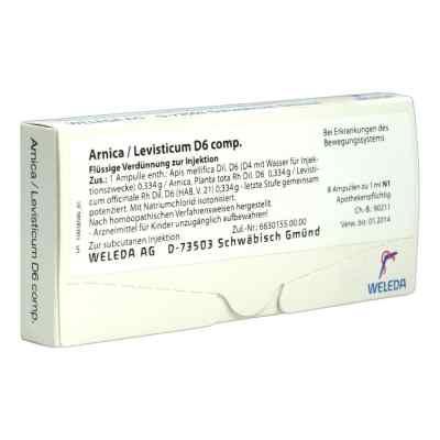 Arnica/levisticum D6 Comp. Ampullen  bei juvalis.de bestellen