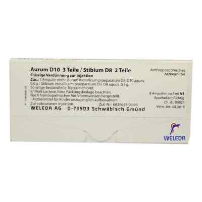 Aurum D10/ Stibium D8 Ampullen  bei juvalis.de bestellen