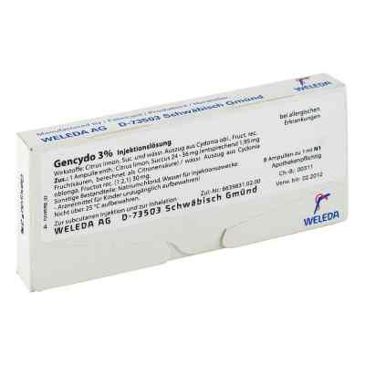 Gencydo 3% Injektionslösung  bei juvalis.de bestellen