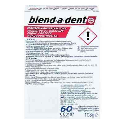 Blend A Dent Reinigungs Tabs langanhalt.Frische  bei juvalis.de bestellen