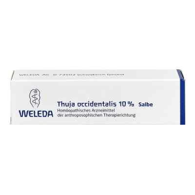 Thuja Occidentalis 10% Salbe  bei juvalis.de bestellen