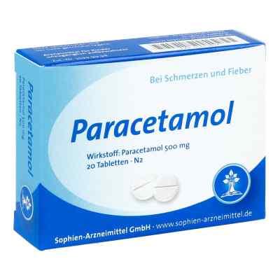 Paracetamol 500 Sophien  bei juvalis.de bestellen