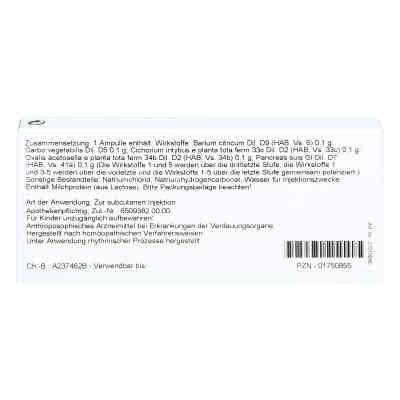 Barium/pancreas Comp. Ampullen  bei juvalis.de bestellen