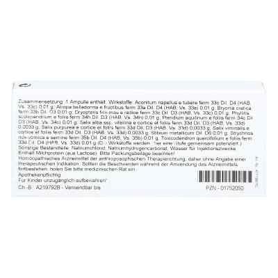 Salix Rhus Comp. Ampullen  bei juvalis.de bestellen