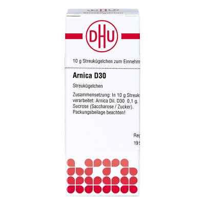 Arnica D30 Globuli  bei juvalis.de bestellen
