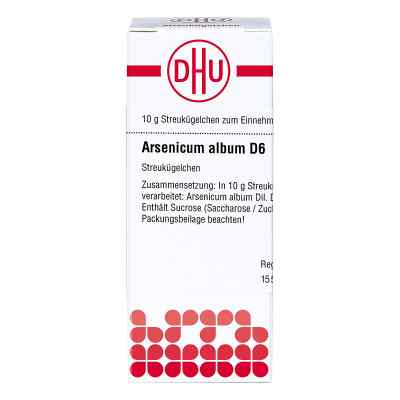Arsenicum Album D 6 Globuli  bei juvalis.de bestellen