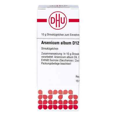 Arsenicum Album D12 Globuli  bei juvalis.de bestellen