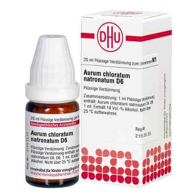 Aurum Chloratum Natronatum D6 Dilution  bei juvalis.de bestellen