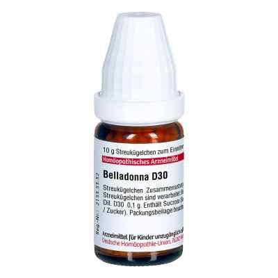 Belladonna D 30 Globuli  bei juvalis.de bestellen