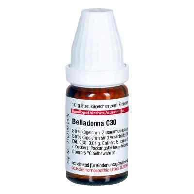 Belladonna C30 Globuli  bei juvalis.de bestellen