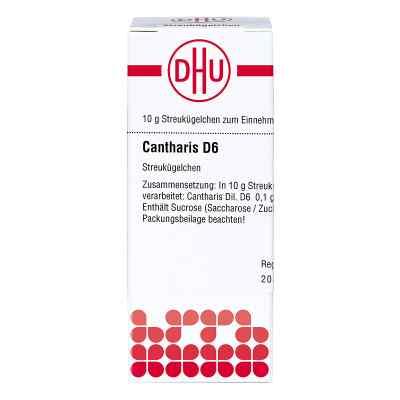 Cantharis D6 Globuli  bei juvalis.de bestellen