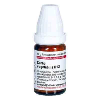 Carbo Vegetabilis D 12 Globuli  bei juvalis.de bestellen