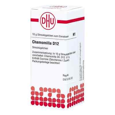 Chamomilla D12 Globuli  bei juvalis.de bestellen