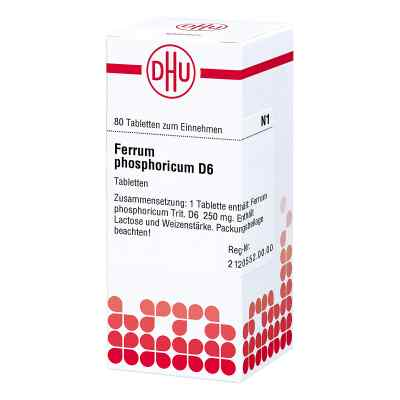 Ferrum Phosphoricum D6 Tabletten  bei juvalis.de bestellen