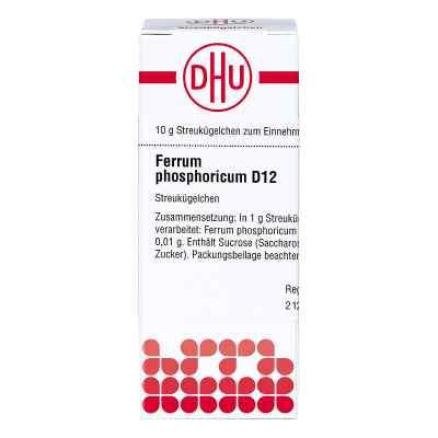 Ferrum Phosphoricum D12 Globuli  bei juvalis.de bestellen