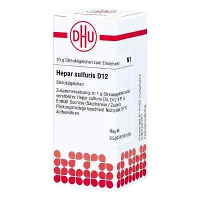Hepar Sulfuris D12 Globuli  bei juvalis.de bestellen