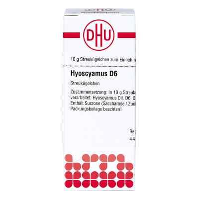 Hyoscyamus D 6 Globuli  bei juvalis.de bestellen