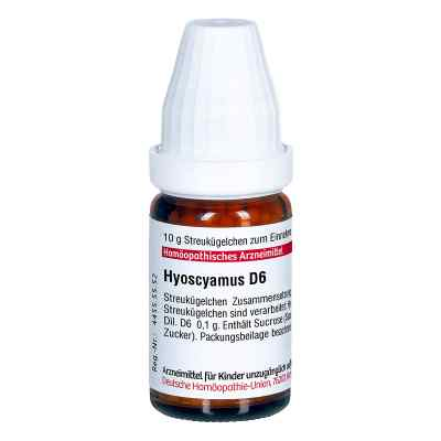 Hyoscyamus D6 Globuli  bei juvalis.de bestellen