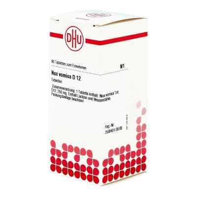 Nux Vomica D12 Tabletten  bei juvalis.de bestellen