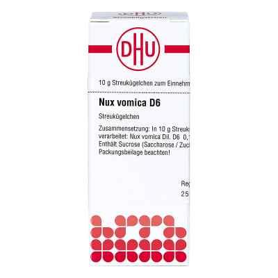 Nux Vomica D6 Globuli  bei juvalis.de bestellen