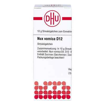Nux Vomica D12 Globuli  bei juvalis.de bestellen
