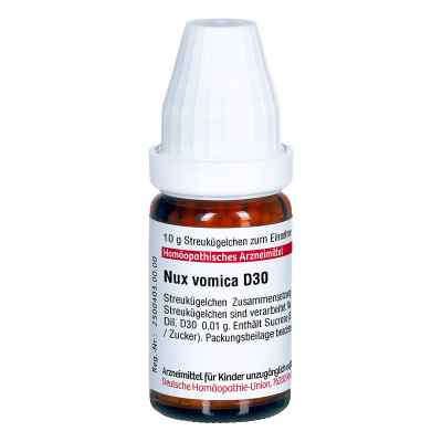 Nux Vomica D 30 Globuli  bei juvalis.de bestellen