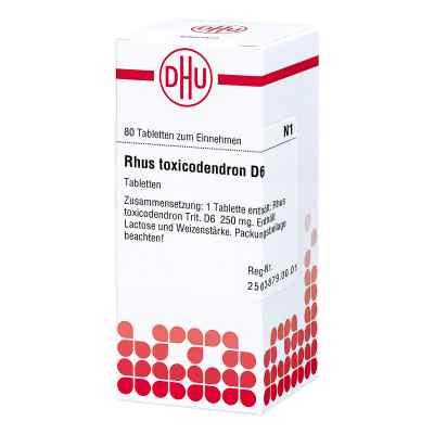 Rhus Tox. D6 Tabletten  bei juvalis.de bestellen