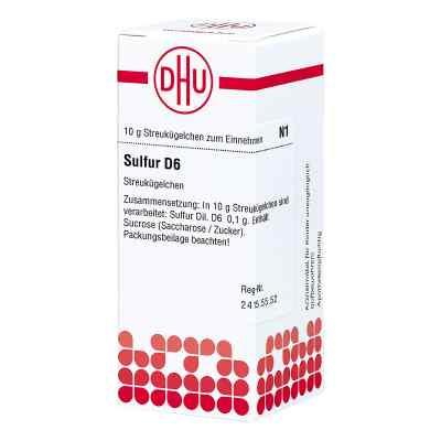 Sulfur D 6 Globuli  bei juvalis.de bestellen
