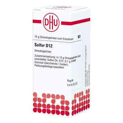 Sulfur D12 Globuli  bei juvalis.de bestellen