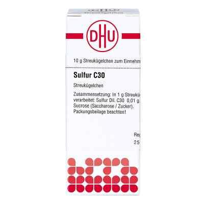 Sulfur C30 Globuli  bei juvalis.de bestellen