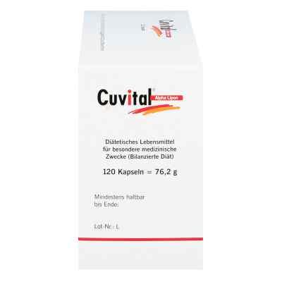 Cuvital Alpha Lipon Kapseln  bei juvalis.de bestellen