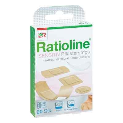 Ratioline sensitive Pflasterstrips in 4 Grössen  bei juvalis.de bestellen