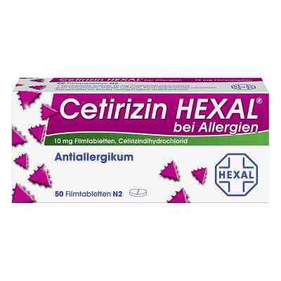 Cetirizin HEXAL bei Allergien  bei juvalis.de bestellen