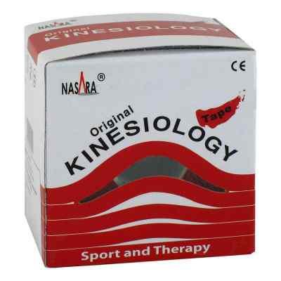 Nasara Kinesio Tape 5 cmx5 m rot inkl.Spenderbox  bei juvalis.de bestellen