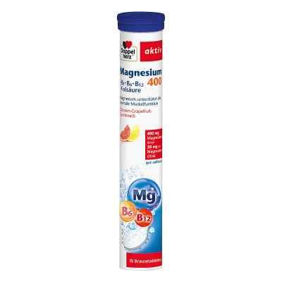 Doppelherz Magnesium 400+b Vitamine +fols. Brausetabletten  bei juvalis.de bestellen