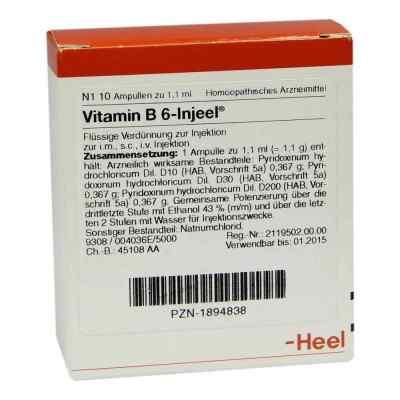 Vitamin B6 Injeel Ampullen  bei juvalis.de bestellen