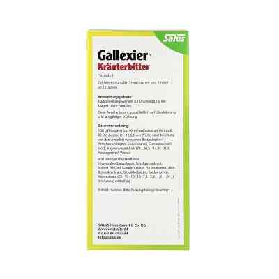 Gallexier Kräuterbitter Salus  bei juvalis.de bestellen