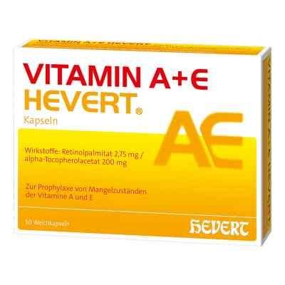 Vitamin A+e Hevert Kapseln  bei juvalis.de bestellen