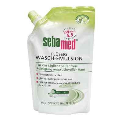 Sebamed flüssig Waschemulsion mit Olive Nachfüllpackung p.  bei juvalis.de bestellen