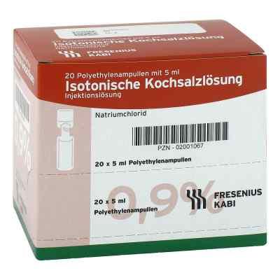 Isotonische Kochsalzlösung 0,9% Plastikampullen  bei juvalis.de bestellen
