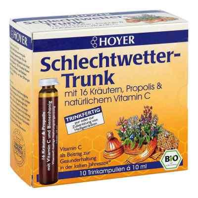 Hoyer Schlechtwetter Trunk Trinkampullen  bei juvalis.de bestellen