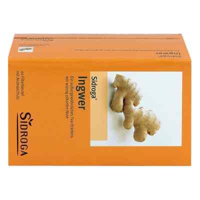 Sidroga Ingwer Tee Filterbeutel  bei juvalis.de bestellen