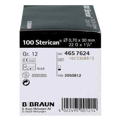 Sterican Kanüle luer-lok 0,70x30mm Größe 12  schwarz  bei juvalis.de bestellen