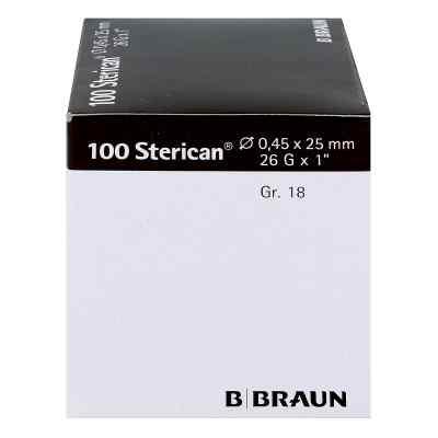 Sterican Kanüle luer-lok 0,45x25mm Größe 1 8 braun  bei juvalis.de bestellen