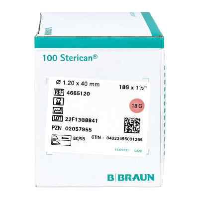 Sterican Kanülen 18gx1 1/2 1,2x40 mm  bei juvalis.de bestellen