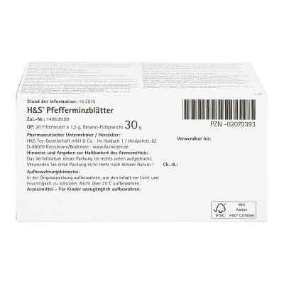 H&S Pfefferminzblätter  bei juvalis.de bestellen