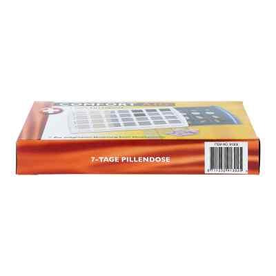 Tablettendose für 7 Tage mit 28 Fächern  bei juvalis.de bestellen